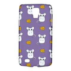 Cute Mouse Pattern Galaxy S4 Active by Valentinaart