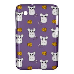 Cute Mouse Pattern Samsung Galaxy Tab 2 (7 ) P3100 Hardshell Case  by Valentinaart