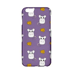 Cute Mouse Pattern Apple Iphone 6/6s Hardshell Case by Valentinaart