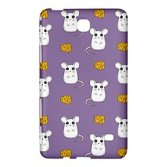 Cute Mouse Pattern Samsung Galaxy Tab 4 (7 ) Hardshell Case  by Valentinaart