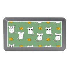 Cute Mouse Pattern Memory Card Reader (mini) by Valentinaart