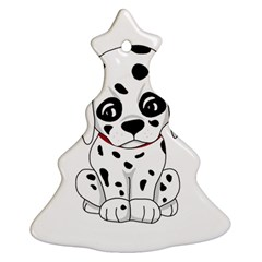 Cute Dalmatian Puppy  Ornament (christmas Tree)