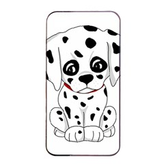 Cute Dalmatian Puppy  Apple Iphone 4/4s Seamless Case (black) by Valentinaart