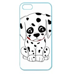 Cute Dalmatian Puppy  Apple Seamless Iphone 5 Case (color)