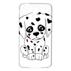 Cute Dalmatian Puppy  Samsung Galaxy S5 Back Case (white) by Valentinaart
