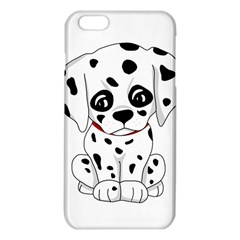 Cute Dalmatian Puppy  Iphone 6 Plus/6s Plus Tpu Case by Valentinaart