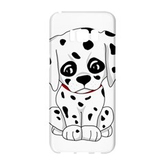 Cute Dalmatian Puppy  Samsung Galaxy S8 Hardshell Case  by Valentinaart