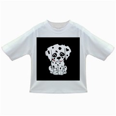 Cute Dalmatian Puppy  Infant/toddler T Shirts by Valentinaart