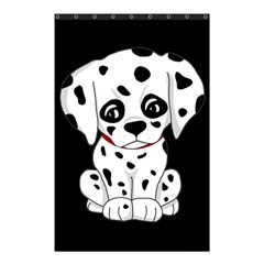Cute Dalmatian Puppy  Shower Curtain 48  X 72  (small)  by Valentinaart