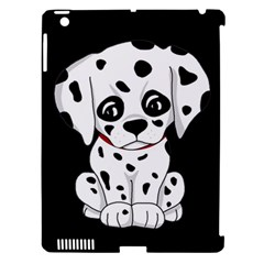 Cute Dalmatian Puppy  Apple Ipad 3/4 Hardshell Case (compatible With Smart Cover) by Valentinaart