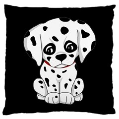 Cute Dalmatian Puppy  Large Cushion Case (two Sides)