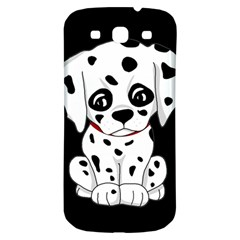 Cute Dalmatian Puppy  Samsung Galaxy S3 S Iii Classic Hardshell Back Case by Valentinaart