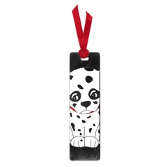 Cute Dalmatian Puppy  Small Book Marks by Valentinaart