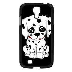 Cute Dalmatian Puppy  Samsung Galaxy S4 I9500/ I9505 Case (black) by Valentinaart