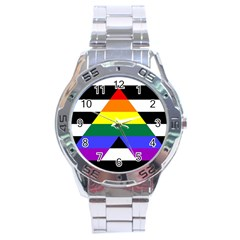 Straight Ally Flag Stainless Steel Analogue Watch by Valentinaart
