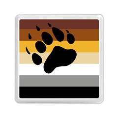 Bear Pride Flag Memory Card Reader (square)
