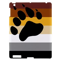 Bear Pride Flag Apple Ipad 3/4 Hardshell Case by Valentinaart