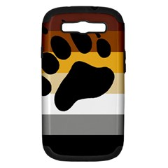 Bear Pride Flag Samsung Galaxy S Iii Hardshell Case (pc+silicone) by Valentinaart