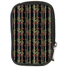 Bamboo Pattern Compact Camera Cases by ValentinaDesign