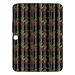 Bamboo Pattern Samsung Galaxy Tab 3 (10 1 ) P5200 Hardshell Case  by ValentinaDesign