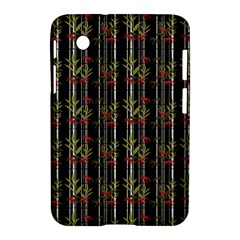 Bamboo Pattern Samsung Galaxy Tab 2 (7 ) P3100 Hardshell Case  by ValentinaDesign