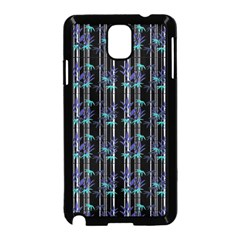 Bamboo Pattern Samsung Galaxy Note 3 Neo Hardshell Case (black) by ValentinaDesign