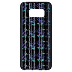 Bamboo Pattern Samsung Galaxy S8 Black Seamless Case by ValentinaDesign