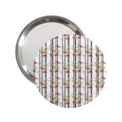 Bamboo Pattern 2 25  Handbag Mirrors by ValentinaDesign