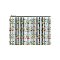 Bamboo Pattern Cosmetic Bag (medium)