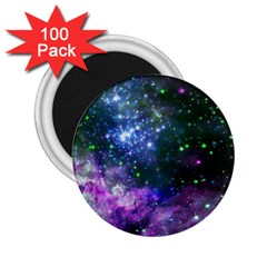 Space Colors 2 25  Magnets (100 Pack)  by ValentinaDesign
