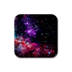 Space Colors Rubber Coaster (square)