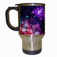 Space Colors Travel Mugs (white) by ValentinaDesign