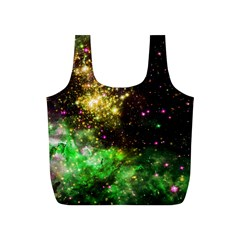 Space Colors Full Print Recycle Bags (s)  by ValentinaDesign