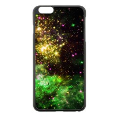 Space Colors Apple Iphone 6 Plus/6s Plus Black Enamel Case by ValentinaDesign