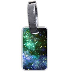 Space Colors Luggage Tags (two Sides) by ValentinaDesign