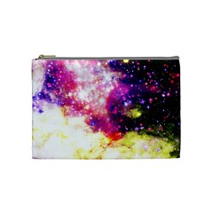 Space Colors Cosmetic Bag (medium)  by ValentinaDesign