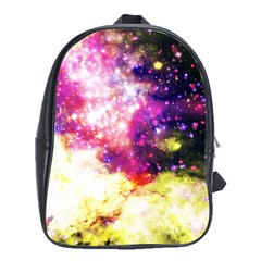 Space Colors School Bag (large) by ValentinaDesign