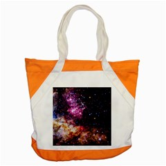 Space Colors Accent Tote Bag by ValentinaDesign