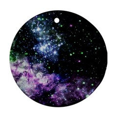 Space Colors Ornament (round) by ValentinaDesign