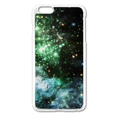 Space Colors Apple Iphone 6 Plus/6s Plus Enamel White Case by ValentinaDesign