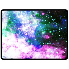 Space Colors Fleece Blanket (large)  by ValentinaDesign
