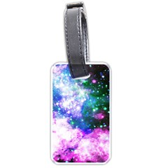 Space Colors Luggage Tags (one Side)  by ValentinaDesign