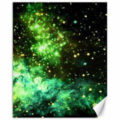 Space Colors Canvas 16  X 20