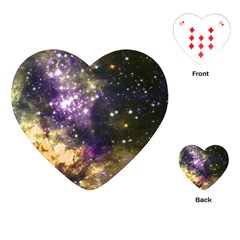 Space Colors Playing Cards (heart)  by ValentinaDesign