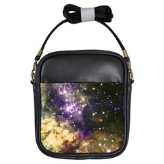 Space Colors Girls Sling Bags by ValentinaDesign