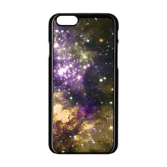 Space Colors Apple Iphone 6/6s Black Enamel Case by ValentinaDesign