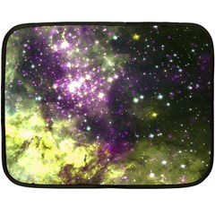 Space Colors Fleece Blanket (mini) by ValentinaDesign