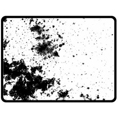 Space Colors Double Sided Fleece Blanket (large)