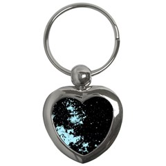 Space Colors Key Chains (heart)  by ValentinaDesign