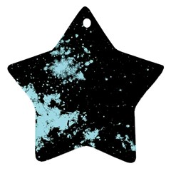 Space Colors Star Ornament (two Sides) by ValentinaDesign